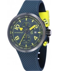 Spinnaker SP-5029-05 Mens Dynamic Grey Integrated Silicon Strap Watch