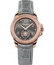 Thomas Sabo WA0239-274-210-33mm Ladies Glam Chic Grey Leather Strap Watch