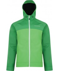 Dare2b Mens Revelry Fairway Green Softshell Jacket