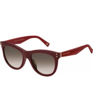 Marc Jacobs Ladies MARC 118-S OPE K8 Burgundy Sunglasses