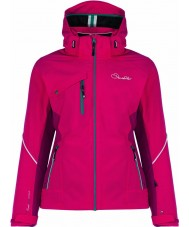 Dare2b DWP334-2KM10L Ladies Etched Lines Duchess Jacket - Size 10 (S)