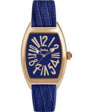 Pocket PK2046 Ladies Tonneau Classique Medio Blue Watch