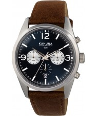 Kahuna KCS-0011G Mens Brown Chronograph Watch
