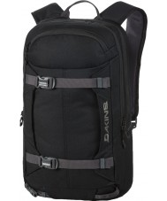 Dakine 10000771-BLACK-OS Mission Pro Black Backpack - 18L