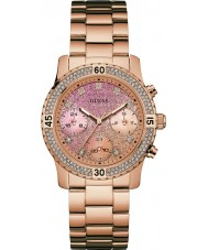 Guess W0774L3 Ladies Confetti Rose Gold Plated Bracelet Watch