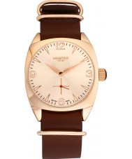Minster 1949 MN04RGRG10 Mens Burlingham Brown Leather Strap Watch