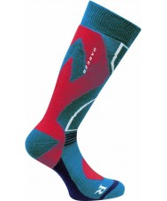 Dare2b DMH305-5NNS08-9-12 Mens Cocoon Tech Methyl Blue Ski Sock - Size 9-12