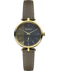 Barbour BB011GDGR Ladies Lisle Grey Leather Strap Watch