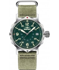 Dogfight DF0060 Mens Ace Green Nylon Strap Watch