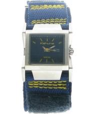 Kahuna KUV-0007L Ladies Blue Velcro Strap Watch