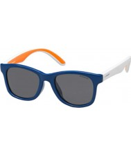 Polaroid Kids PLD8001-S T20 Y2 Blue Polarized Sunglasses