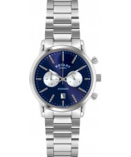 Rotary GB02730-05 Mens Timepieces Sports Avenger Blue Silver Chronograph Watch