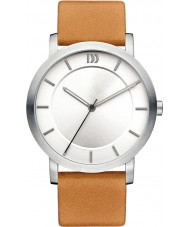 Danish Design V29Q1047 Ladies Tan Leather Strap Watch