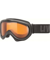 Uvex 5500472129 Magic Black - Laser Gold Ski Goggles