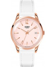 Henry London HL39-S-0112 Pimlico Rose Gold White Watch