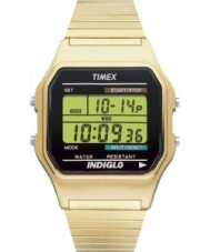 Timex T78677 Mens Gold Classic Digital Chronograph Watch