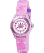 Tikkers TK0036 Girls Pink Fairy Princess Watch