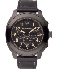 Emporio Armani AR6061 Mens Black Chronograph Sports Watch
