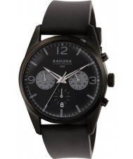 Kahuna KCS-0010G Mens Black Chronograph Watch