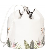 Fiorelli FH8471-PRINT Ladies Callie Tropical Border Print Drawstring Backpack