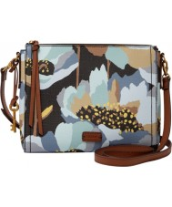 Fossil ZB6902992 Ladies Emma EW Dark Floral Cross Body Bag