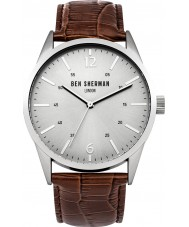Ben Sherman WB060BR Mens Brown Leather Strap Watch
