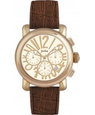 Pocket PK2048 Ladies Rond Chrono Medio Brown Watch