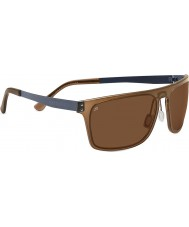 Serengeti Ferrara Crystal Dark Brown Polarized PhD Drivers Sunglasses