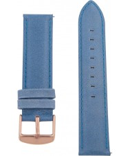 Charles Conrad CDA1006-18-L6 Blue Leather Strap