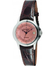 Dreyfuss and Co DGS00016-25 Mens 1925 Copper Rose Stamped Brown Automatic Watch