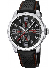 Festina F16585-8 Mens Multifunction Leather Strap Watch