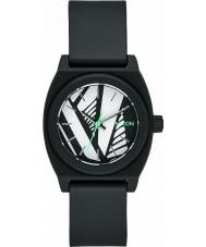 Nixon A425-2218 Ladies Small Time Teller P Black Bleach Watch