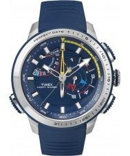 Timex Intelligent Quartz TW2P73900 Mens Yacht Racer Chronograph Blue Silicone Strap Watch