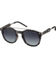 Polaroid PLD6020-S TUH WJ Grey Havana Ruthenium Polarized Sunglasses