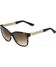 Jimmy Choo Ladies Cora-S FA5 JD Havana Glitter Sunglasses