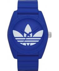 Adidas ADH6169 Santiago Blue Silicone Strap Watch