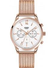 Henry London HL39-CM-0034 Ladies Richmond White Rose Gold Chronograph Watch