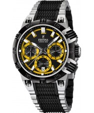 Festina F16775-7 Mens 2014 Chrono Bike Tour De France Yellow Black Watch