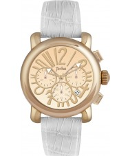 Pocket PK2050 Ladies Rond Chrono Medio White Watch