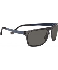 Serengeti Ferrara Crystal Dark Charcoal Polarized PhD CPG Sunglasses