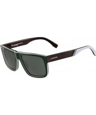 Lacoste Mens L826S Green Sunglasses
