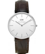 Daniel Wellington DW00100055 Ladies Classic York 36mm Silver Watch
