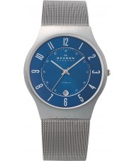 Skagen 233XLTTN Mens Klassik Titanium Silver Mesh Watch