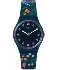 Swatch GN256 Ladies Flower Carpet Watch