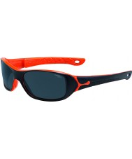 Cebe S-Picy (Age 7-10) Matt Black Orange Sunglasses