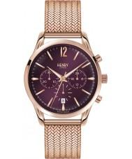 Henry London HL39-CM-0088 Ladies Hampstead Purple Rose Gold Chronograph Watch
