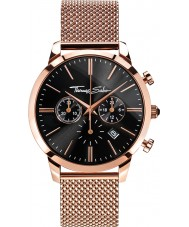 Thomas Sabo WA0246-265-203-42mm Mens Eternal Rose Gold Plated Chronograph Watch