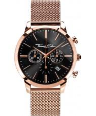 Thomas Sabo WA0246-265-203-42mm Mens Eternal Rose Gold Plated Chronograph Watch