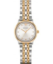 Emporio Armani AR1963 Ladies Classic Two Tone Steel Bracelet Watch