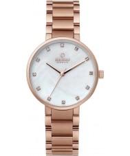 Obaku V189LXVWSV Ladies Rose Gold Plated Bracelet Watch